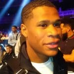 Boxer Devin Haney