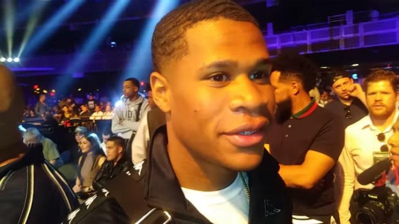Boxer Devin Haney