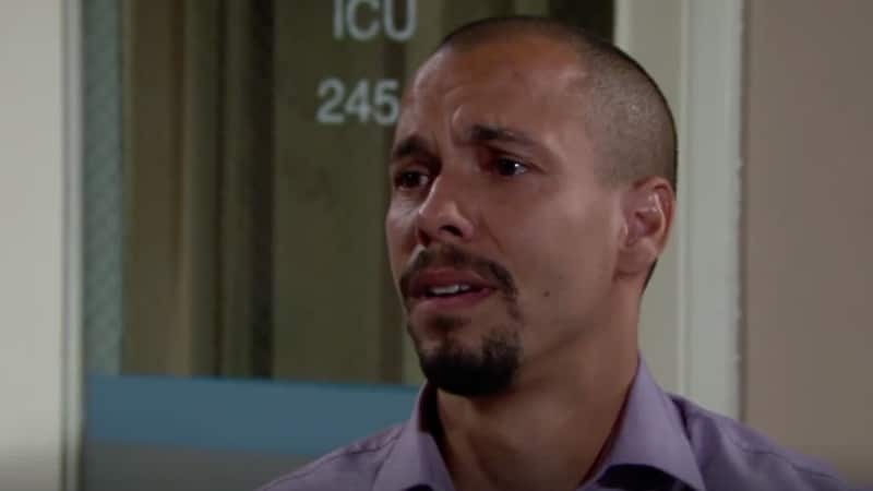 Devon struggles on The Young and the Restless