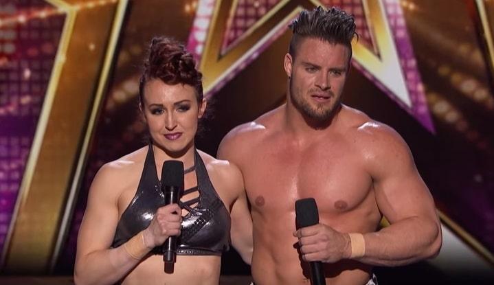 Acrobats Duo Transcend on America's Got Talent