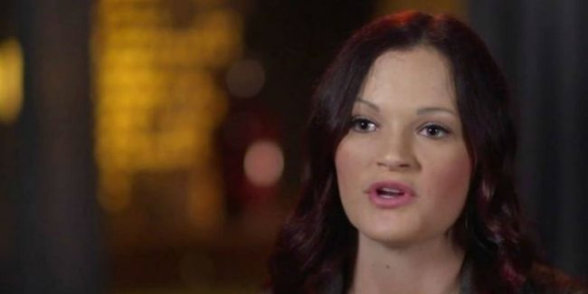 Jessica from Escaping Polygamy during a confessional