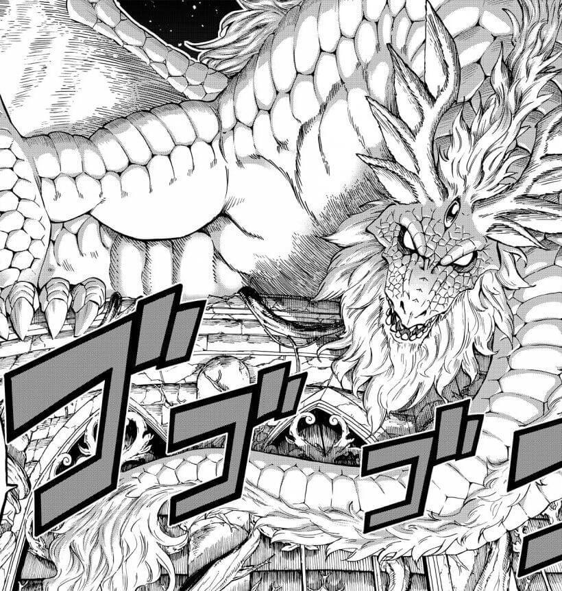 Fairy Tail 100 Year Quest Manga Dragon