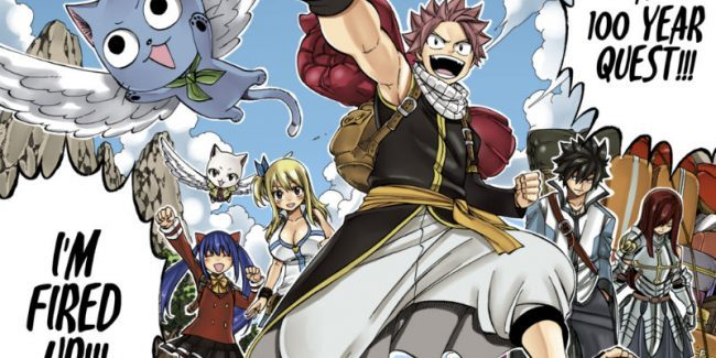 Fairy Tail 100 Year Quest Manga sequel's story can become Fairy Tail Season 4 anime by 2021
