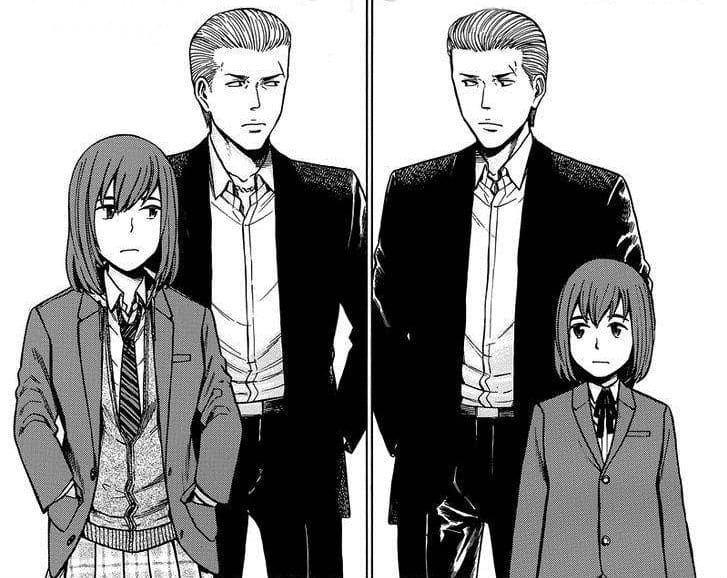 Hinamatsuri Manga Hina High School Girl