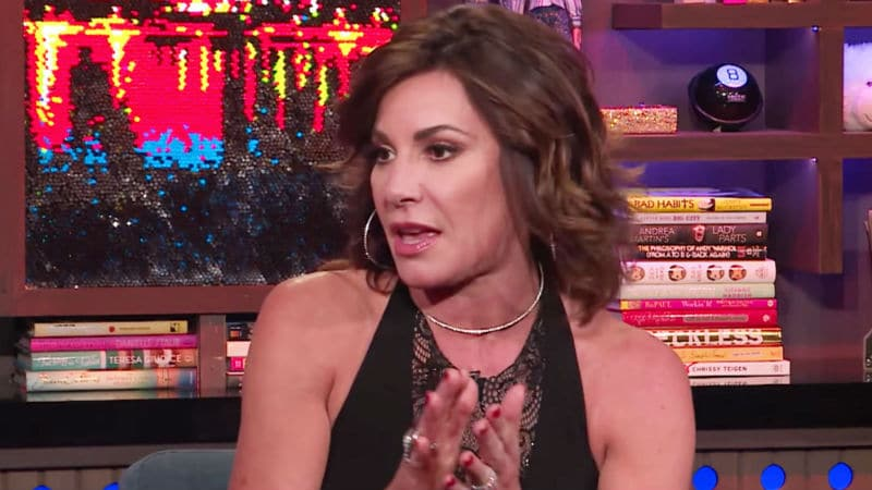 Luann de Lesseps during an appearance on Watch What Happens Live