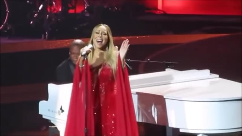 Mariah Carey was caught lip syncing during The Butterfly Returns debut in Las Vegas