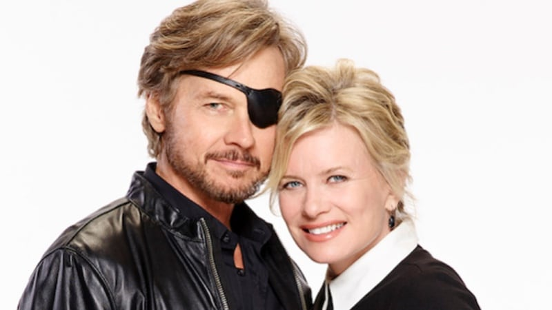 Patch and Kayla on Days of our Lives