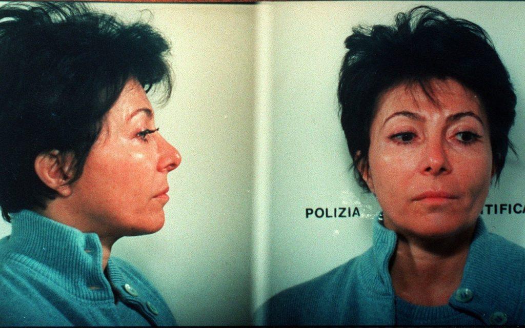 Patrizia Reggiani mugshot