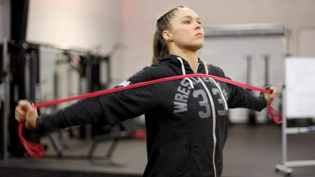 WWE superstar Ronda Rousey becomes first female in UFC Hall of Fame
