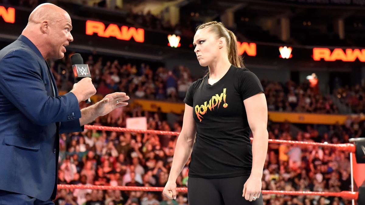 Ronda Rousey returns from suspension on WWE Monday Night Raw