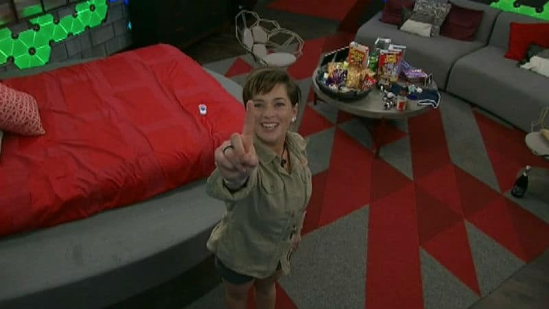 Sam in her HoH room