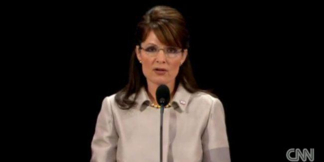 Sarah Palin accepts the Vice Presidential nomination