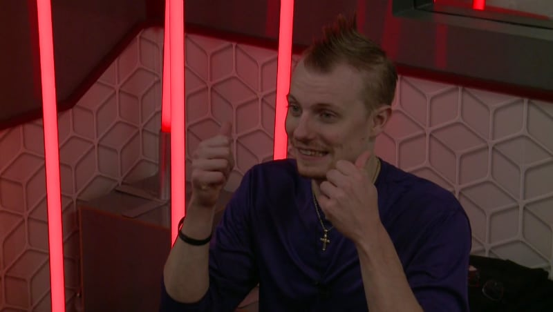Scottie Salton is ready for the PoV comp on Big Brother 20