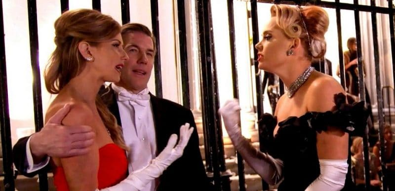 Ashley Jacobs, Thomas Ravenel and Kathryn Dennis on the Season 5 finale of Southern Charm