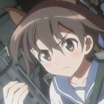 Artwork from Strike Witches