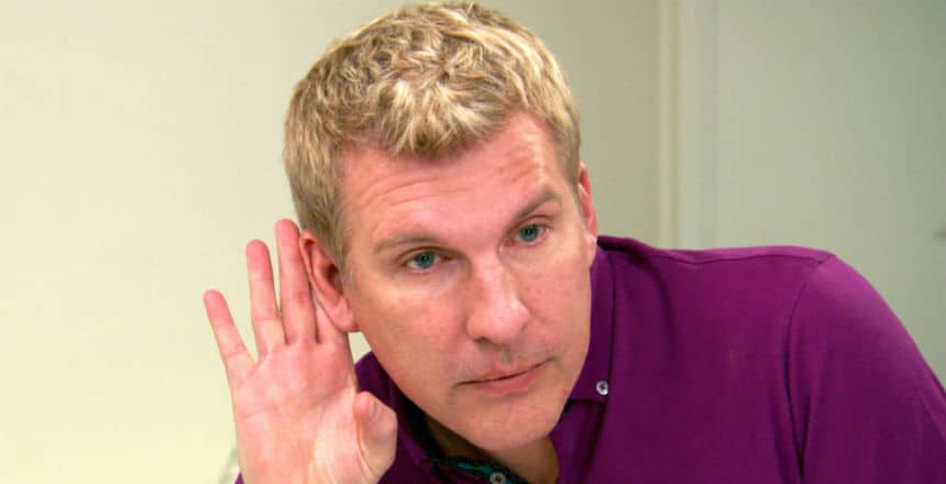 Todd Chrisley on Chrisley Knows Best