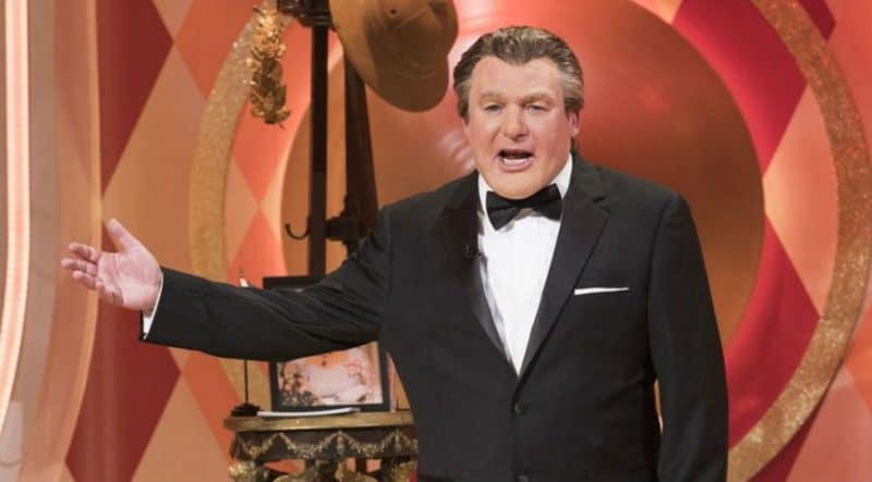Tommy Maitland, who is really Mike Myers, hosts The Gong Show on ABC