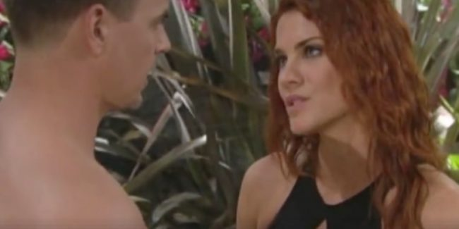 Sally on The Bold and the Beautiful