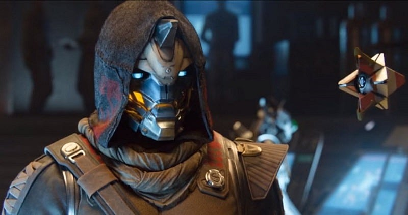 Cayde-6 and his Ghost.
