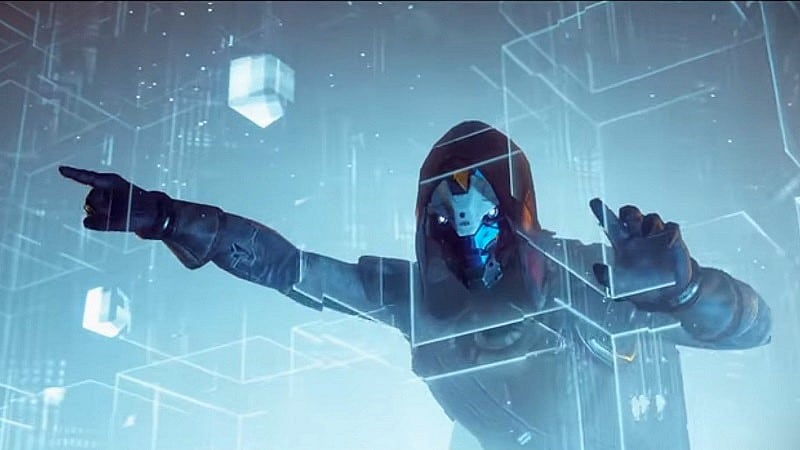 Cayde-6 trapped by the Vex