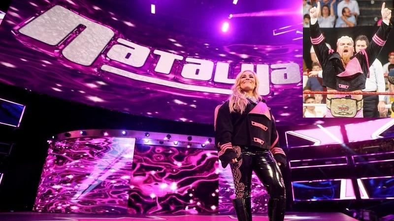 Natalya makes her entrance.