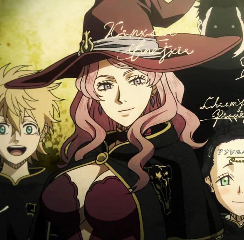 Black Clover Anime Vanessa