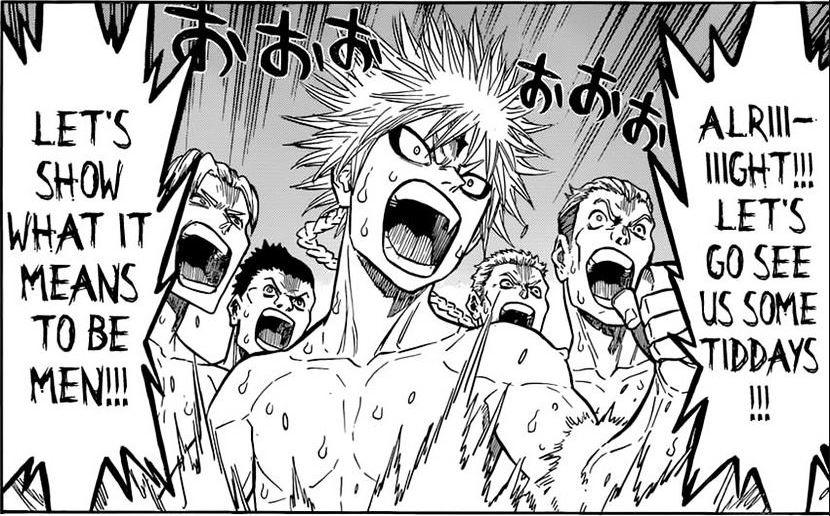Black Clover Manga Hot Springs Chapter 111