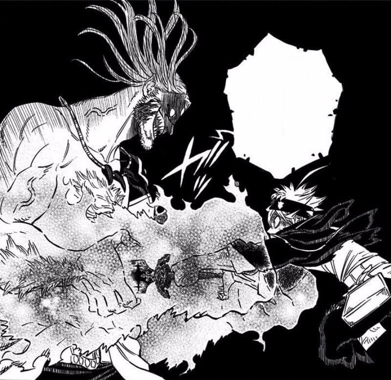 Black Clover Manga Vetto Crushes Asta