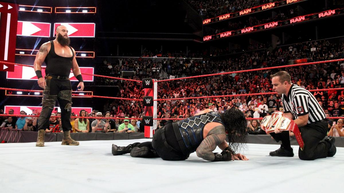 WWE news: Braun Strowman makes huge challenge to Roman Reigns for Monday Night Raw