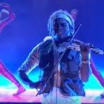 Brian King Joseph during America's Got Talent