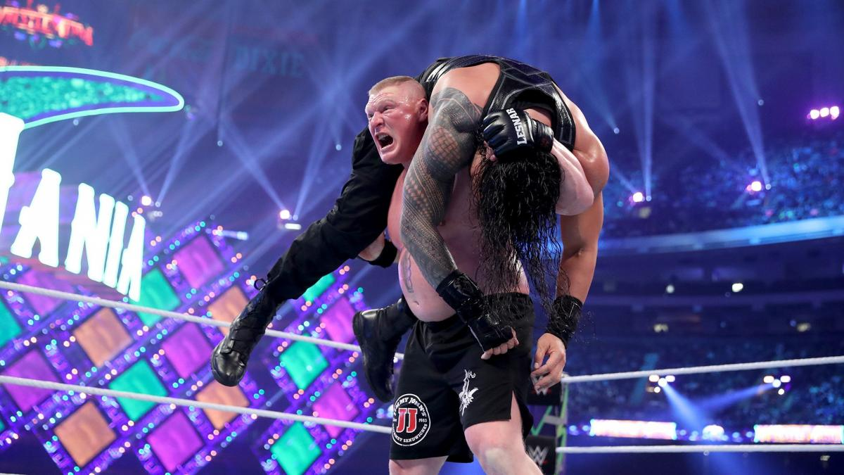 WWE news: Roman Reigns criticizes Brock Lesnar's performance in the WWE