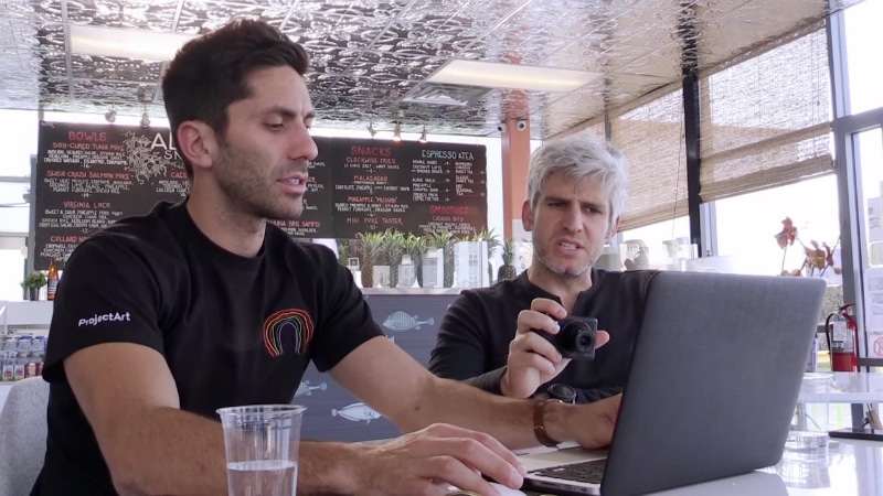 Nev and Max on Catfish The TV Show