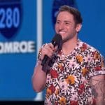 Samuel J. Comroe performing on America's Got Talent