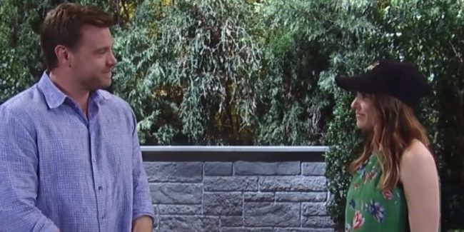 Drew and Margaux on General Hospital