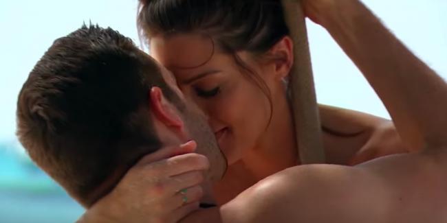 Garrett and Becca on The Bachelorette