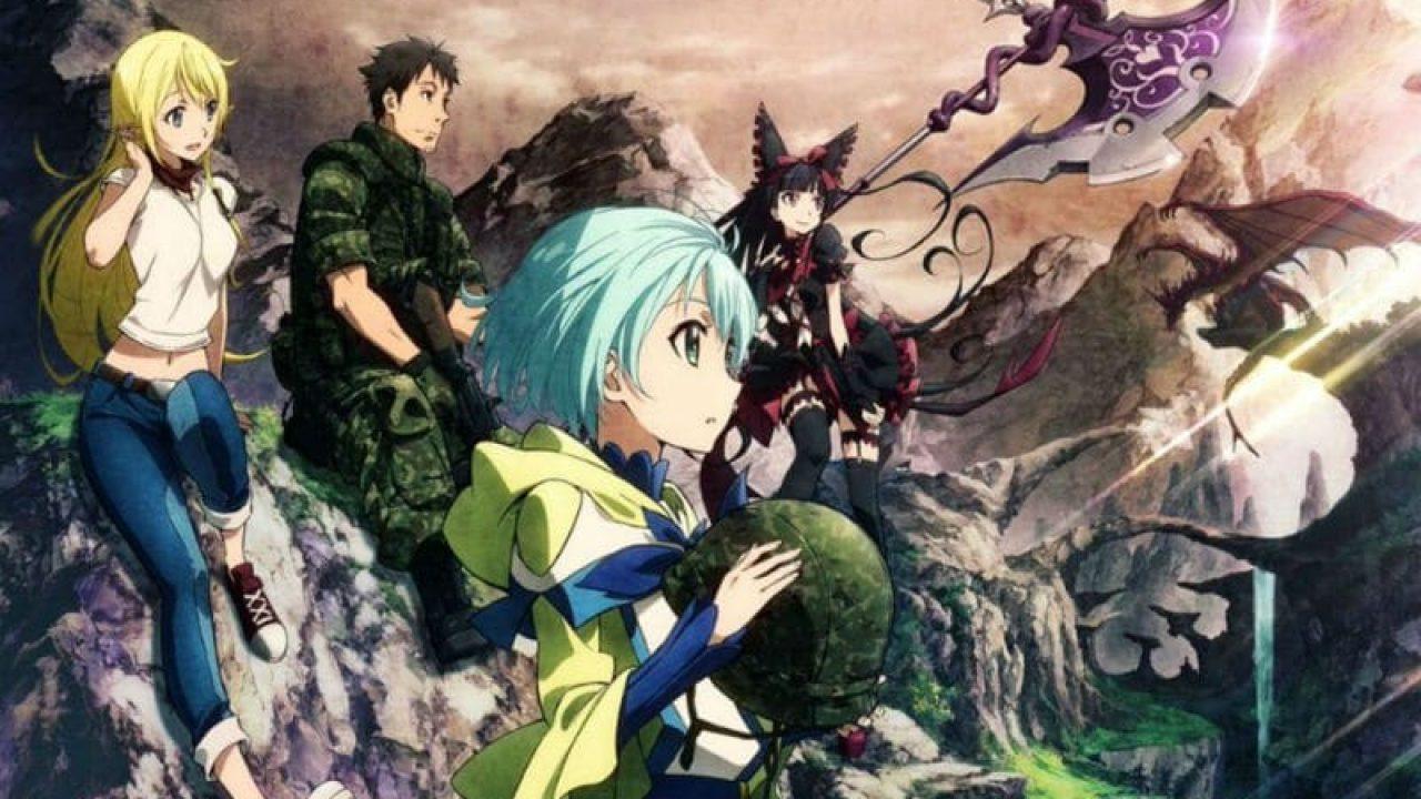 Gate Season 3 release date - Gate: Jieitai Kanochi nite, Kaku