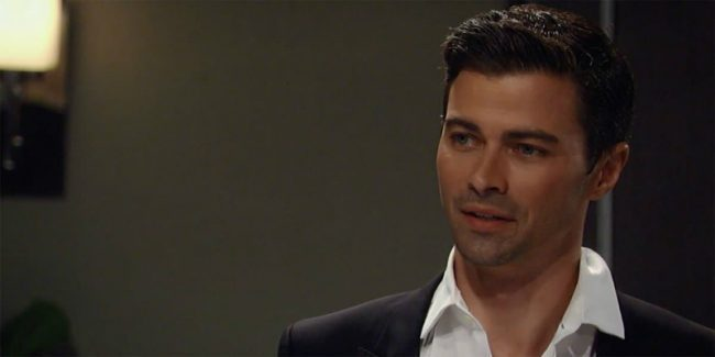 Griffin finds himself in a precarious position on General Hospital