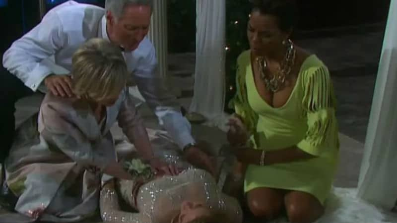 The aftermath of Marlena being shot on Days of our Lives