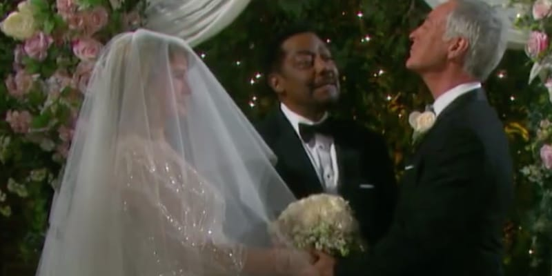 Marlena getting married on Days of our Lives