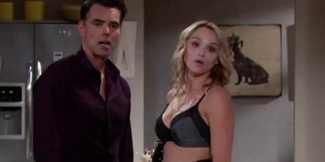 Summer and Billy on The Young and the Restless