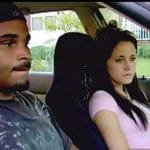 Kieffer Delp and Jenelle Evans on Teen Mom 2