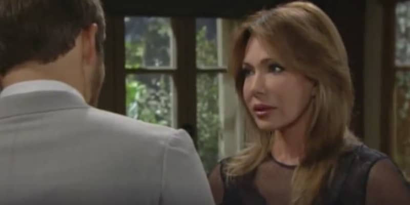 Taylor with Liam on The Bold and the Beautiful