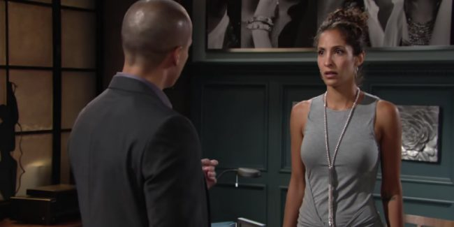 Devon and Lily on The Young and the Restless