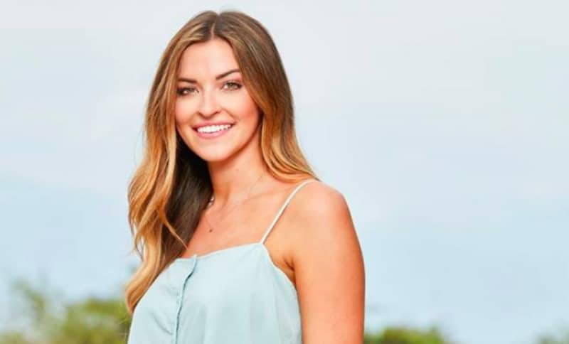 Tia Booth on Bachelor In Paradise