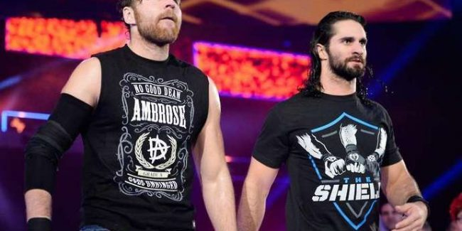 WWE - Dean Ambrose and Seth Rollins