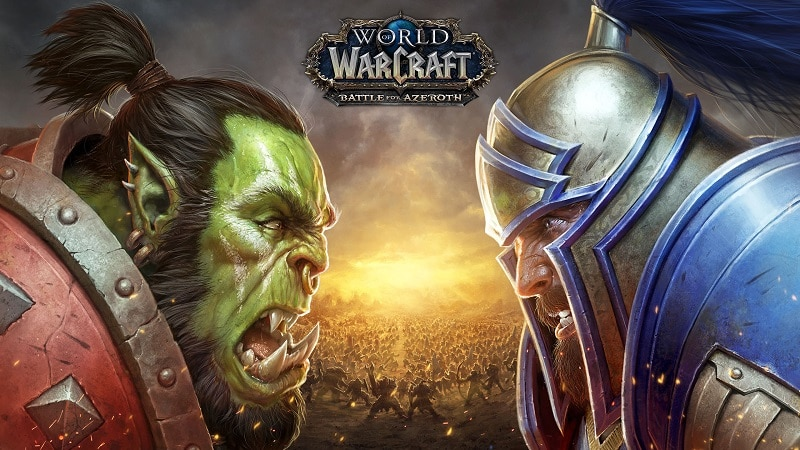 World of Warcraft: Battle for Azeroth expansion now live, but server issues are causing major delays accessing the game