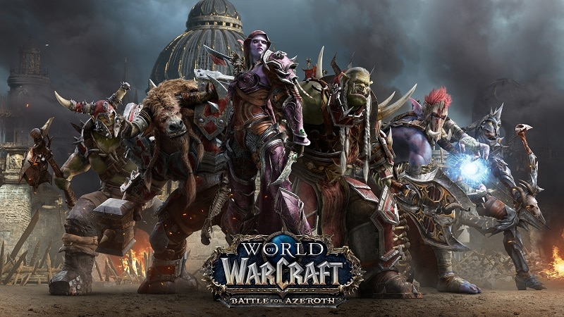 The Horde prepares to take on the Alliance in World of Warcraft: Battle for Azeroth