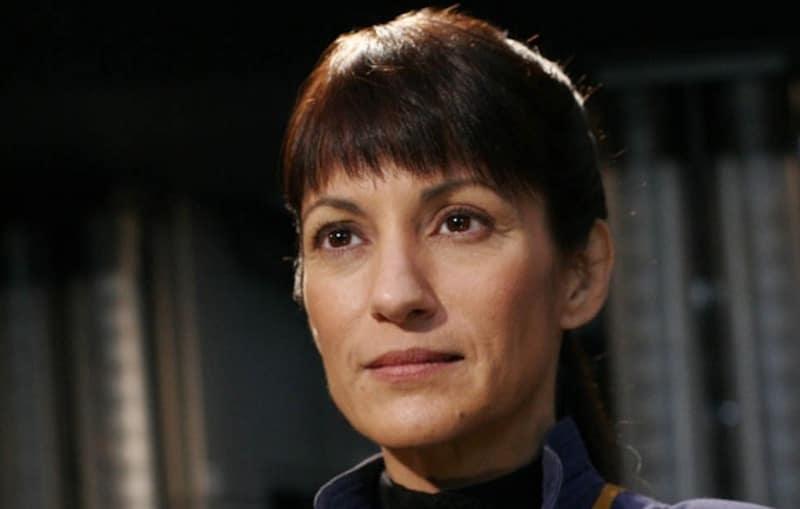 Ada Maris as Captain Erika Hernandez in Star Trek: Enterprise