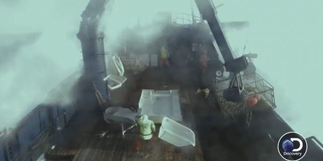 Deadliest Catch exclusive: Jake sounds alarms as the biggest wave ever hits the Saga