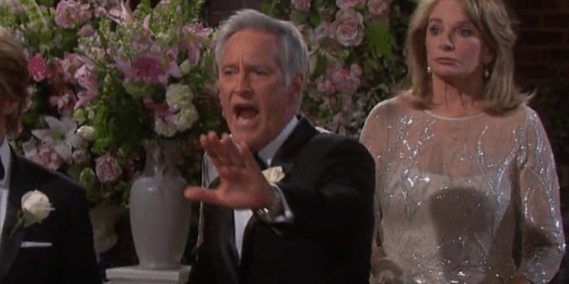 John at his wedding on Days of our Lives